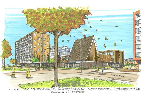 Alexanderkerk rotterdam hoe ziet uw droomappartement er for Nieuwbouw rotterdam huur